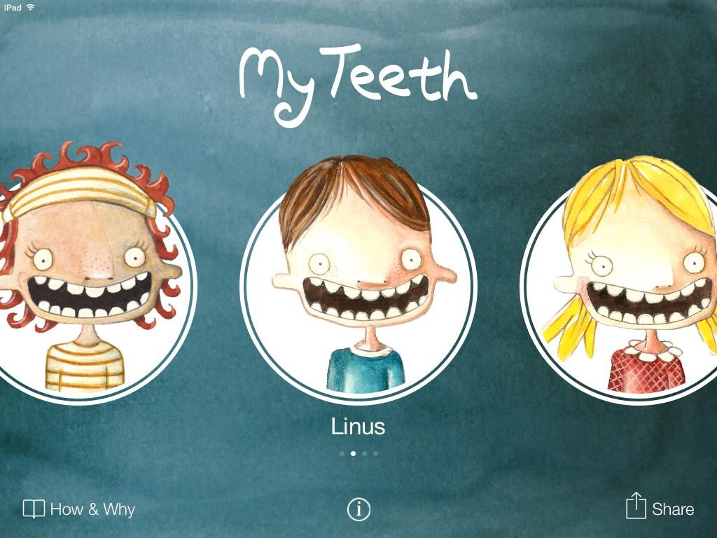 歯磨きアプリMyteeth