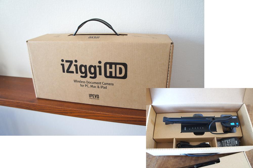 ワイヤレス!・小さい!・Wi-Fi通信なしOK!3拍子そろった実物投影機(書画カメラ)が便利〜 iZiggi-HD(IPEVO)