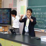 松田校長のプログラミング授業公開〜小6理科で心拍センサー