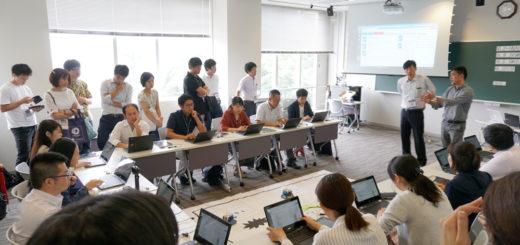 「未来の先生展」前原小学校セッション