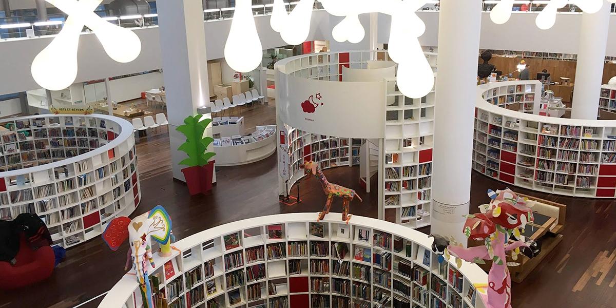 アムステルダム中央図書館 子どもフロア